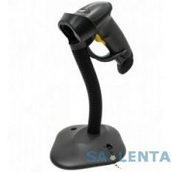 Motorola LS2208 [LS2208-SR20007R-UR]  черный {ручной лазерный сканер штрих-кода BLACK USB KIT: Includes LS2208-SR20007R scanner, CBA-U01-S07ZAR cable, 20-61019-02R Stand}