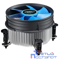 Cooler Deepcool THETA 16 PWM {Soc-1150/1155/1156, 4pin, 18-26dB, Al+Cu, 95W, 401g, клипсы}