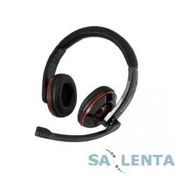 Gembird MHS-780B Гарнитура стерео  , черный, регулятор громкости