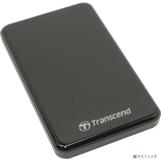 Transcend Portable HDD 2Tb StoreJet TS2TSJ25A3K {USB 3.0, 2.5'', black}