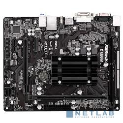 ASROCK D1800M RTL {J1800, DDR3, PCI-E, 5.1ch Audio, SATAII, GBL, D-Sub, DVI, HDMI, mATX}