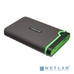 Transcend Portable HDD 2Tb StoreJet TS2TSJ25M3 {USB 3.0, 2.5'', black-green}