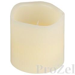 ЭРА WC-1 Белый {Светильник декоративный Свеча, LED, От батареек 3xAAA}