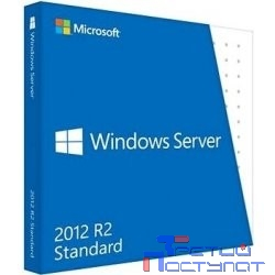 HP Windows Server 2012 R2 Standard Edition 64bit, RU/En, 2P, ROK DVD, Proliant only (748921-421)