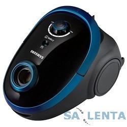 Пылесос Samsung SC5483 2100Вт черный/синий с мешком