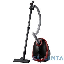 Пылесос Samsung SC5491 2100Вт черный/красный