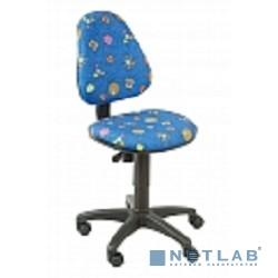 Бюрократ KD-4/55-3  (Кресло детское синий бабочки)