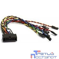 Supermicro CBL-0068L  Кабель SuperMicro CBL-0068L 16-pin front panel split cable (CBL-0068L)