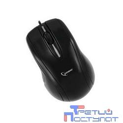 Gembird MUSOPTI8-807U, черный, USB, 1000DPI