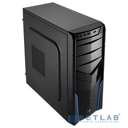 Miditower Aerocool ''V2X Black (Edition)'' (Без БП) (52643)