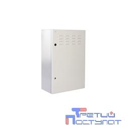ЦМО Шкаф уличный всепогодный настен. 9U (600х500), передняя дверь вент. (ШТВ-Н-9.6.5-4ААА)