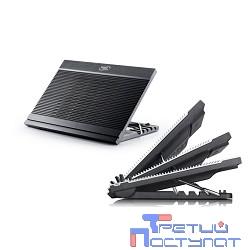 DEEPCOOL  N9 BLACK {Подставка для охлаждения ноутбука  (8 шт/кор, до 17