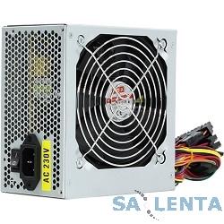 Блок питания ATX 500W OEM FOX (120мм вентилятор/1*PCI-E/24pin/2*SATA, мощность 500W)