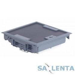 Legrand 89611 Напольная коробка 18 модулей с регулируемой глубиной 75-105 мм, серая