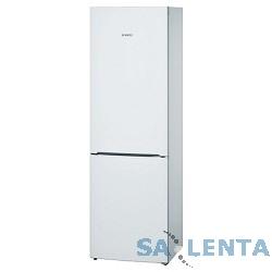 Холодильник BOSCH [KGE36XW20R] белый {ПРО-ВО: РОССИЯ 185х60х65, объем камер 223+95, морозильная камера нижняя}