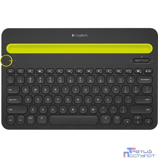920-006368 Logitech Multi-Device Keyboard K480 Black Bluetooth