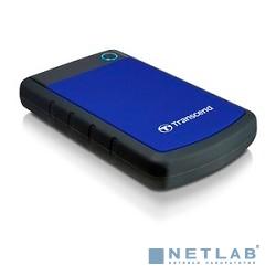 Transcend Portable HDD 1Tb StoreJet TS1TSJ25H3B {USB 3.0, 2.5'', blue}