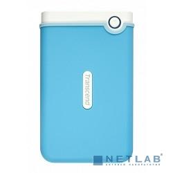 Transcend Portable HDD 1Tb StoreJet TS1TSJ25M3B {USB 3.0, 2.5'', blue}