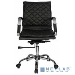 Бюрократ CH-991-Low/Black  (Кресло руководителя , искусственная кожа)