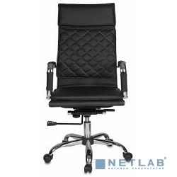 Бюрократ CH-991/Black (Кресло руководителя,  искусственная кожа)