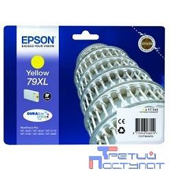 EPSON C13T79044010  Картридж 79XL желтый повышенной емкости для WF-5110DW/WF-5620DWF (bus)