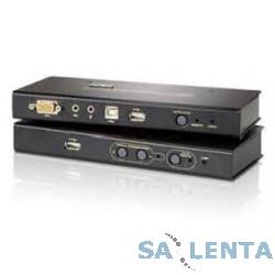 ATEN CE800B-(A7-G) Удлинитель, SVGA+KBD/MOUSE USB+AUDIO,250 метр,HD-DB15+3xUSB A-тип+ 2x MINIJACK,Female,cKVM-шнуром,Б.П.220>5.3V,(доп.USB порт только для Flash Drives;доп. USB порт B-тип/Fe