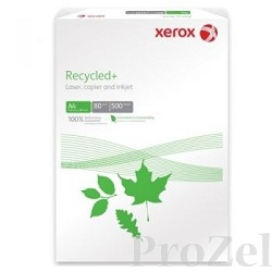 XEROX 003R91912 Бумага Recycled Plus XEROX A4,  80г, 500 листов  (отпускается коробками по 5 пачек в коробке)