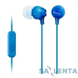 SONY MDR-EX15APLI.CE7, синий {Наушники с гарнитурой}