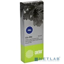 CACTUS PR4  Картридж матричный Cactus (CS-PR4) для Olivetti PR4, ресурс 2 600 000 зн, black