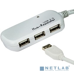 ATEN UE2120H USB 2.0  4-Port  Hub with Extension Cable 12m