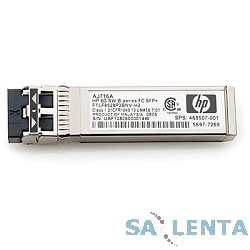 HP C8R24A Трансивер HP MSA 2040 16Gb Short Wave Fibre Channel SFP+ 4-Pack