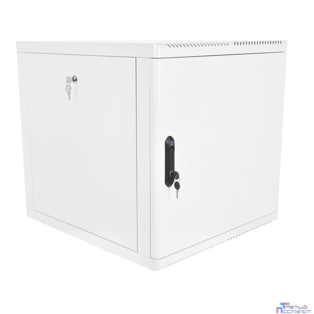 ЦМО! Шкаф телеком. настенный разборный 9U (600х520), съемные стенки, дверь металл (ШРН-М-9.500.1)(1 коробка)