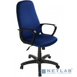 Бюрократ Ch-808AXSN/Bl&Blue  (Кресло руководителя,черный/синий 12-191)