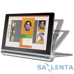 Lenovo Yoga Tablet 2 8″ IPS/1920×1200/Intel Atom Z3745/2GB/16GB/Android 4.4/WiFi/BT/3G, LTE Silver [59428232]