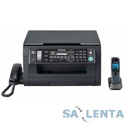 Panasonic лазерное KX-MB2051RUB {принтер/сканер/копир/факс, DECT, LAN} черный