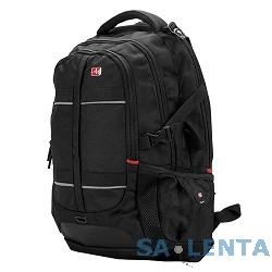 Рюкзак Continent BP-302 BK нейлон, черная, до 16″