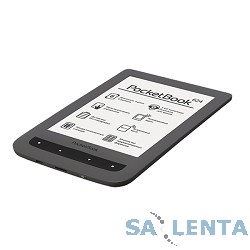Электронная книга PocketBook 624 {6″ E-ink Pearl 800×600 Touch Screen 1Ghz 256Mb/4Gb/SD} серый [PB624-Y-RU]