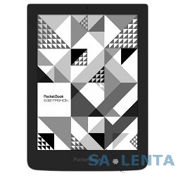 Электронная книга PocketBook 630 {6″ E-ink HD Pearl 758×1024 Touch Screen 1Ghz 256Mb/4Gb/microSDHC Kenzo} gray [PB630-G-RU-KNZ]