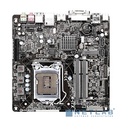 ASRock H81TM-ITX RTL {S1150, H81, DDR3, 7.1ch-Audio, PCI-E, GBL, SATAIII, DVI, HDMI, mini-ITX}