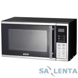 Микроволновая печь Mystery MMW-2008G 800Вт, 20 л, гриль, 8 режимов, черный/серебристый