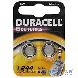 DURACELL LR44-2BL (2 шт. в уп-ке)