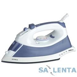 Утюг Supra IS-0600 белый/синий 2000Вт