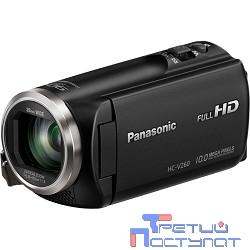 Видеокамера Panasonic HC-V260 черный {2.7
