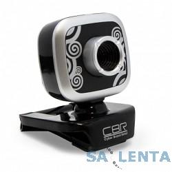 Веб-камера CW-835M Silver, универс. крепление, 4 линзы, 1,3 МП, эффекты, микрофон, CW 835M Silver