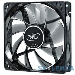 Cooler Deepcool  WIND BLADE 80 [DP-FLED-WB80] {80x80x25 3pin 20db 1800rpm 60g голубой LED}