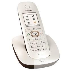 Gigaset CL540  Black Телефон беспроводной  PEARLY WHITE /<wbr>BROWN