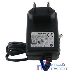 YEALINK PA 5VDC Блок питания PA 5VDC 1.2A для SIP-T20(P), SIP-T22P, SIP-T26P, SIP-T27P, SIP-T28P, SIP-T27G, SIP-T41P(S), SIP-T42G(S)