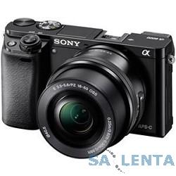 Sony Alpha A6000 кит 16-50мм PZ черный