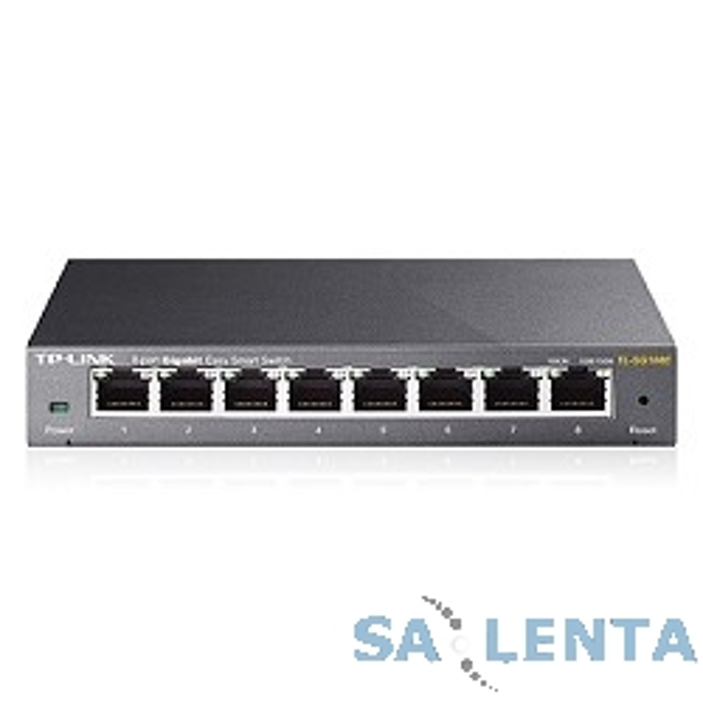 TP-Link TL-SG108E 8-port Desktop Gigabit Switch, 8 10/100/1000M RJ45 ports