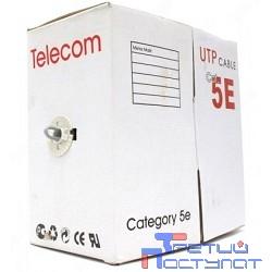 Telecom Кабель UTP кат. 5e 4 пары (305м) (0.52mm) CCA серый [UTP4-TC305C5EPRO-CCA-IS]